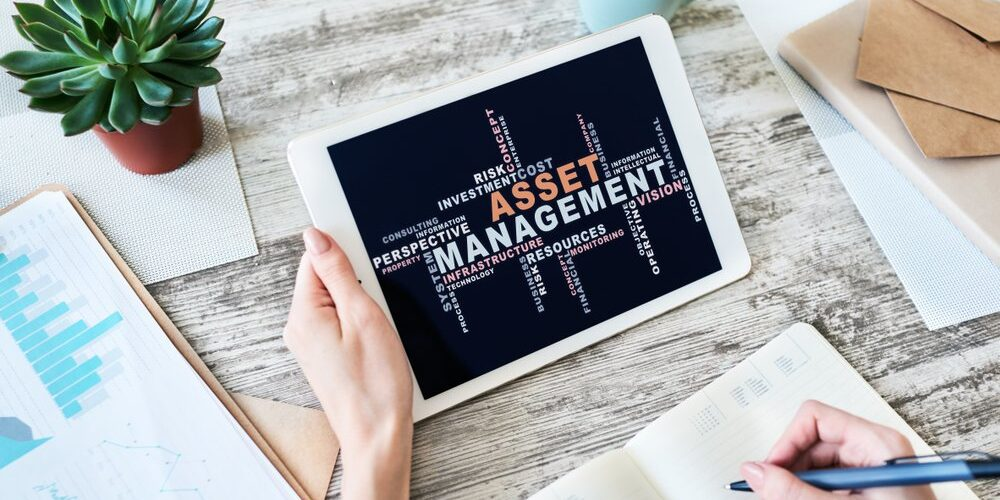 Asset,Management,Words,Cloud,On,Screen.,Financial,And,Business,Concept.